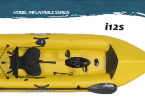 Hobie Mirage Inflatable Single Kayak i12s Overview