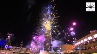 Downtown Dubai New Year's Eve 2014 Highlight Video (Short Version)