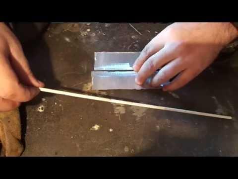 Сварка алюминия инверторной сваркой в домашних условиях