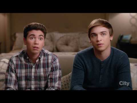 Brett Young / Kenny O'Neal (bret`s comes the third wheel) - The Real O'Neals (tv series)
