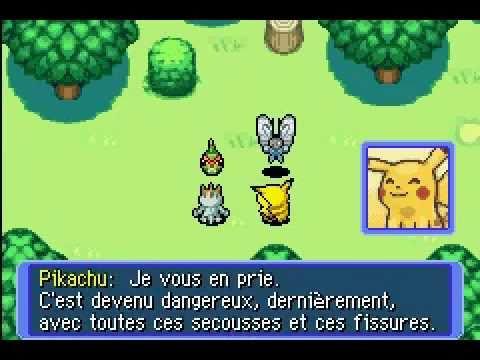 Pokémon Donjon Mystère : Equipe de Secours Rouge GBA