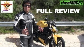 8. Ducati Street Fighter 848 Full Review - A thorough, solid & honest review