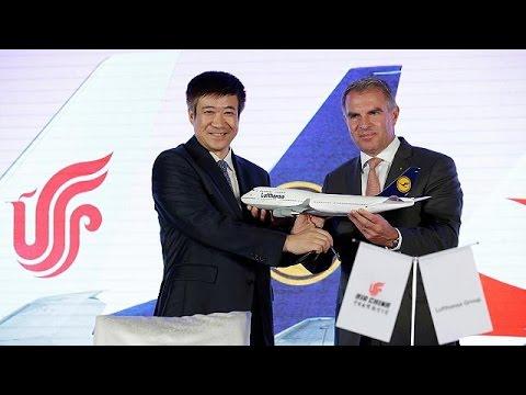 Lufthansa και Air China ενώνουν τις δυνάμεις τους – economy