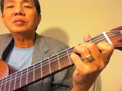 Tu hoc guitar chu am Dm