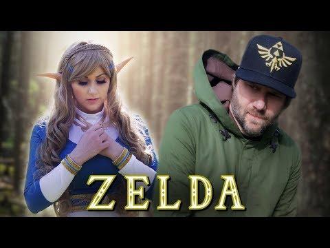 Legend of Zelda Nintendo Song- Breath of The Wild Rap   Screen Team
