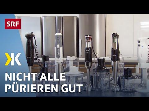 Stabmixer im Test: Einige scheitern schon an Suppe | 2018 | SRF Kassensturz