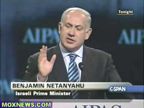 Netanyahu at AIPAC 2010 pt 2 of 4
