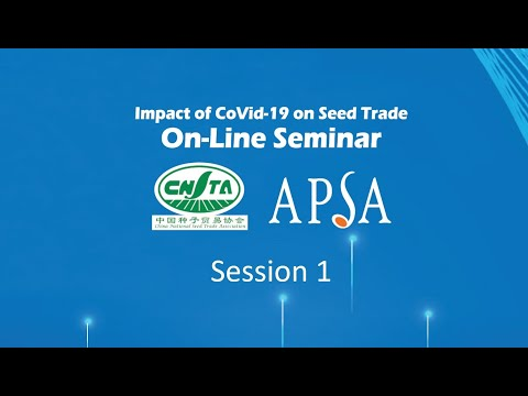 Impact of COVID-19 on Seed Trade  Online Seminar - Session 1