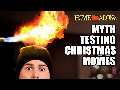 MythTesting Christmas Movies with Science