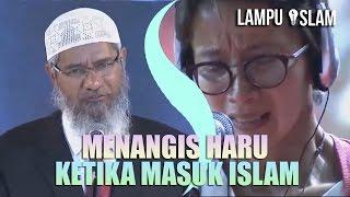 Video Wanita Ini MENANGIS HARU Ketika MASUK ISLAM | DR. ZAKIR NAIK MP3, 3GP, MP4, WEBM, AVI, FLV Agustus 2018
