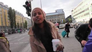 1080p Full HD Sara Nuru, Germanys Next Top Model At Munich's Hauptbahnhof On A Sunday