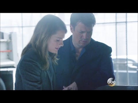 """Castle 7x10 """"Bad Santa"""" Beckett Thinks Castle Is Trying To Help with the Poem   Funny Ryan"""