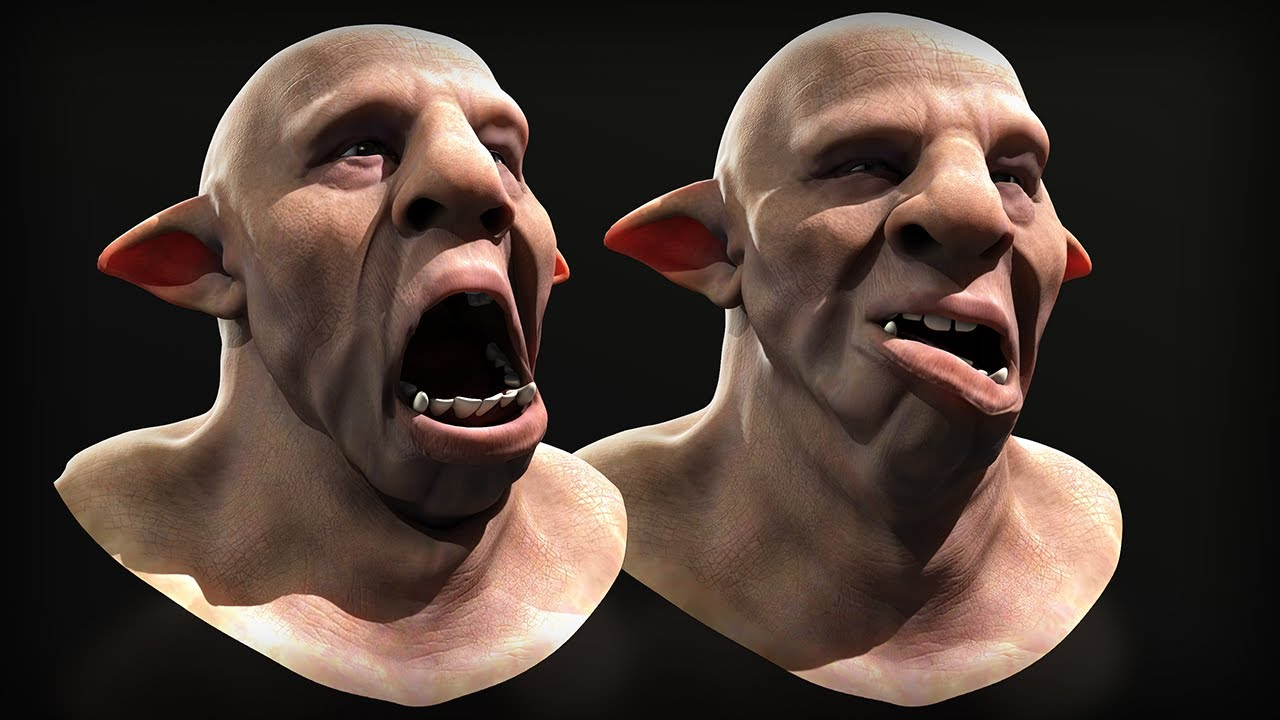 working joint based 3d facial rigging maya tutorial