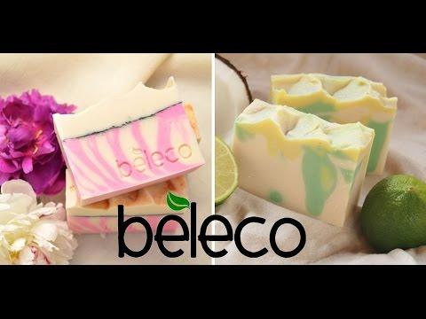 Peony și Limette - Săpunuri naturale handmade by Beleco