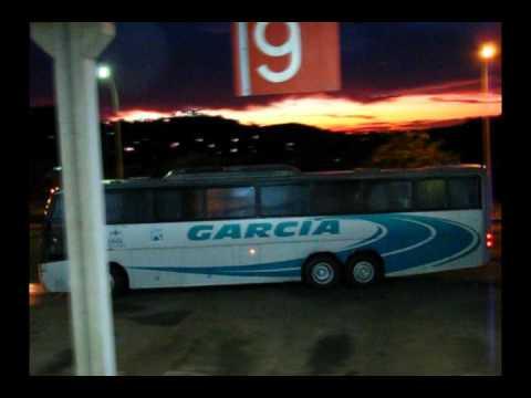 Viação Garcia 6946 no pôr do sol em Cornélio Procópio