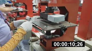 Auto moving table of Heating press Base plate