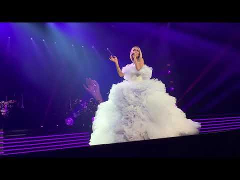 """Céline Dion, """"Pour que tu m'aimes encore,"""" Live at Centre Vidéotron, 18 Sept 2019"""
