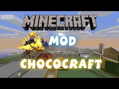 Minecraft - Mods: Chococraft - Chocobo's In Minecraft!