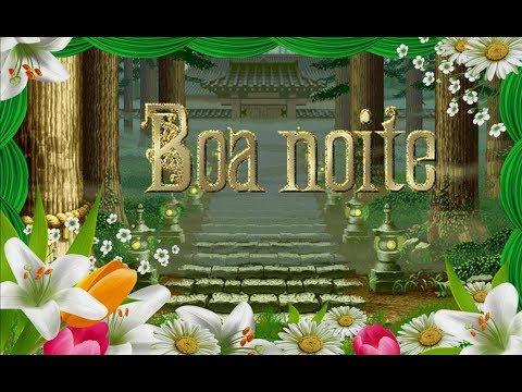 Mensagem de Boa Noite  Boa noite iluminada   vídeo para whatsapp