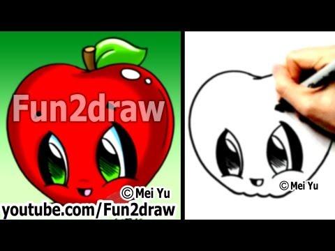 Fun2draw Apple Fun2draw Stars By The Funny Drawers