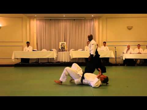 Joe Tambo demonstration aikido