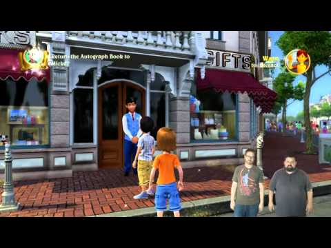 disneyland adventures - I hope you guys like Tomorrowland, because every ride in Disneyland now takes place in space. To learn more about Kinect Disneyland Adventures, vist http://w...