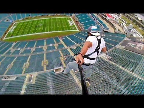 Rope Swing Zipline - NFL Sta...