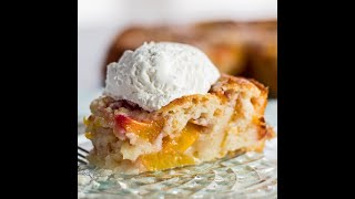 Fresh and tangy, this delicious nectarine (or try peaches) cobbler is perfect for anytime of the year! If you enjoyed this video please...