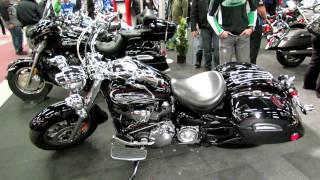 9. 2012 Yamaha Road Star Silverado Rolling Thunder at 2012 Montreal Motorcycle Show