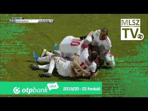 22. forduló: Kisvárda - DVTK 2-2 (1-0)