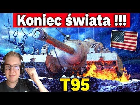 KONIEC ŚWIATA!!!! - Multi na T95 - World of Tanks