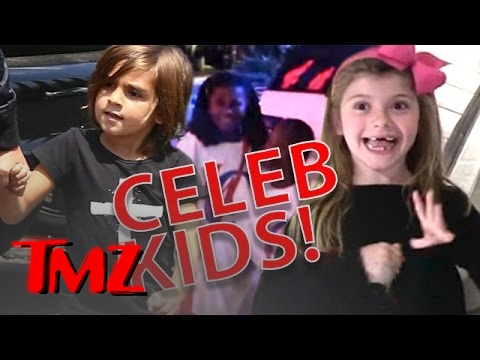 Funny Moments With Celebrity Kids!