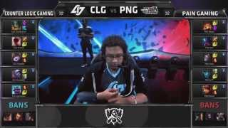 CKTG 2015: Highlight Counter Logic Gaming vs paiN Gaming