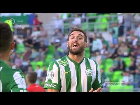 Böde Dániel gólja a Ferencvárosi TC - Dunaújváros mérkőzésen