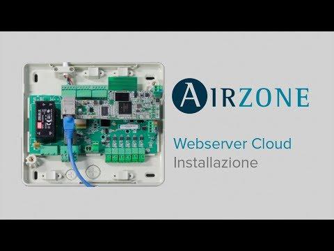 Webserver Airzone Cloud: Installazione