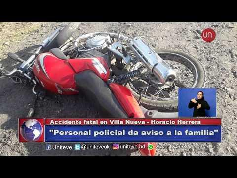 Accidente fatal Villa Nueva