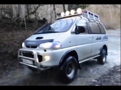 Mitsubishi Delica - минивэн для экспедиций