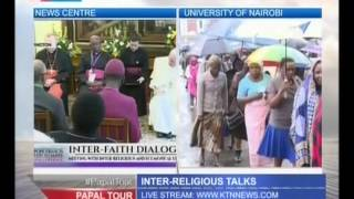 Pope Francis Holds Inter-religious Meeeting With Religious Leaders