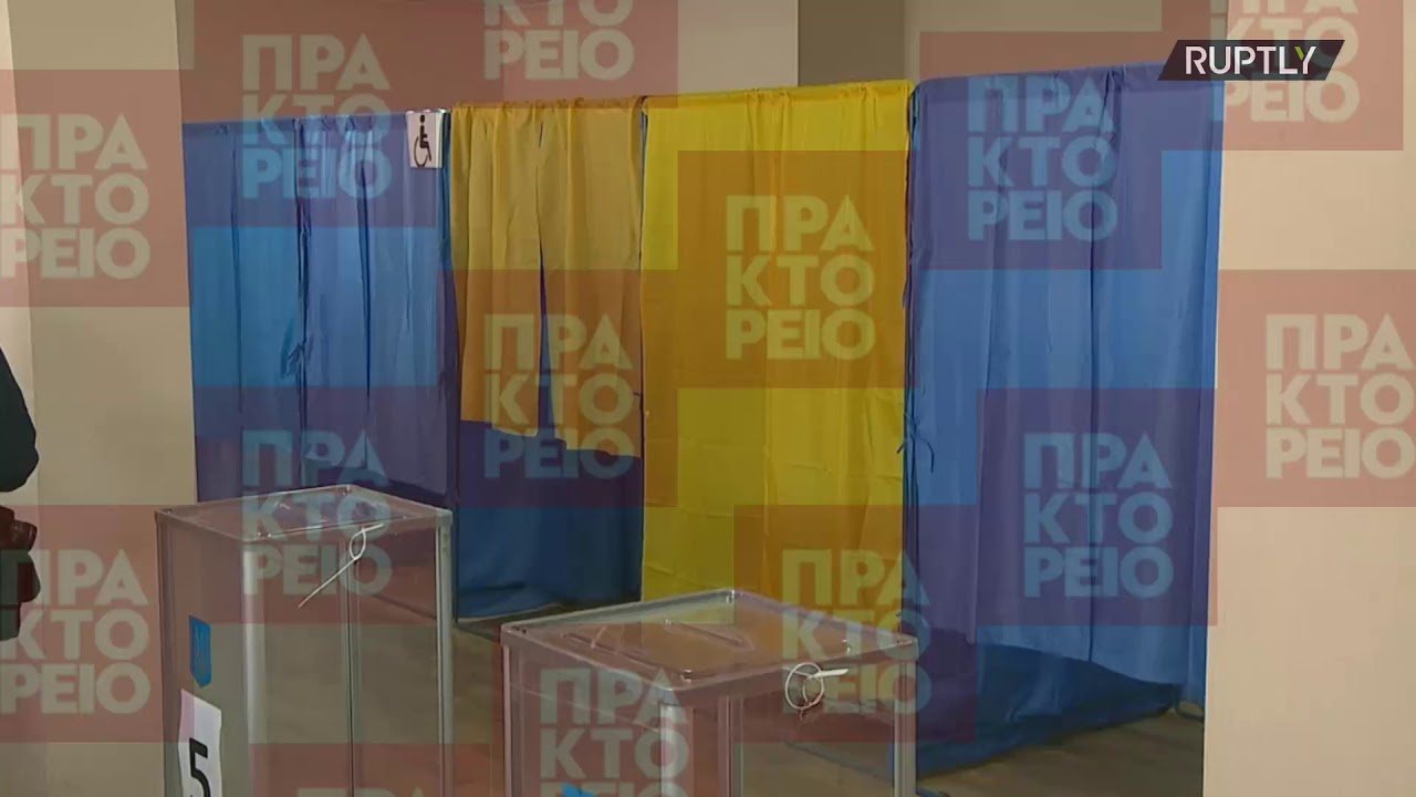 Ανοιξαν οι κάλπες στον δεύτερο γύρο των προεδρικών εκλογών στην Ουκρανία