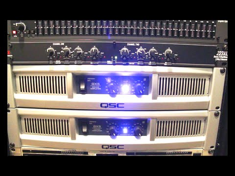 How to Setup active crossover dbx 223XL into your PA system   DJ Setup   Live bands   Live events