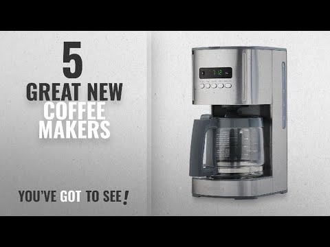 Top 10 Kenmore Coffee Makers [2018]: Kenmore 40706 12-Cup Programmable Aroma Control Coffee Maker in