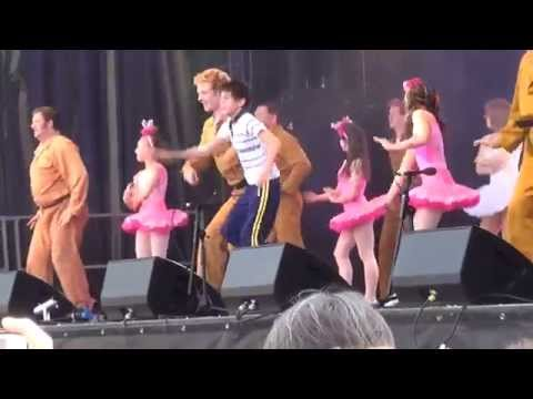 Elliott Hanna as Billy Elliot at West End Live 2014