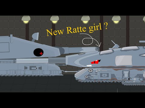 NEW RATTE ?~Cartoon About Tank