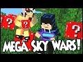 Megs Skywars Com Lucky  Inicia A Grande Batalha