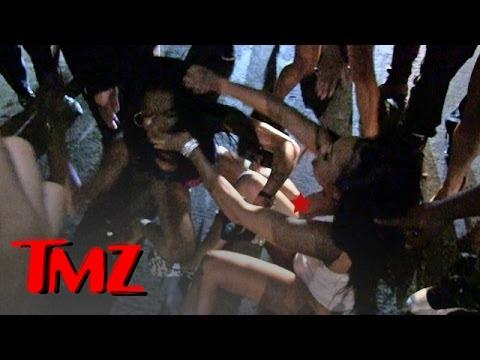 The Game -- BLOODY GIRL FIGHT ... After Nightclub Twerk-Off   TMZ