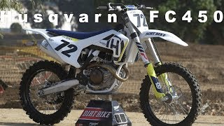10. 2018 Husqvarna FC450 - Dirt Bike Magazine