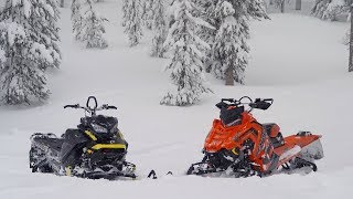 9. 2018 Mountain Sled Shootout: Ski-Doo VS Polaris