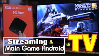Video Nonton BOLA/Main GAME ANDROID di TV! – Xiaomi Mi Box 4K Review Indonesia MP3, 3GP, MP4, WEBM, AVI, FLV Juli 2018