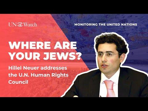 """""""Algeria, where are your Jews?"""" - Hillel Neuer silences UN"""