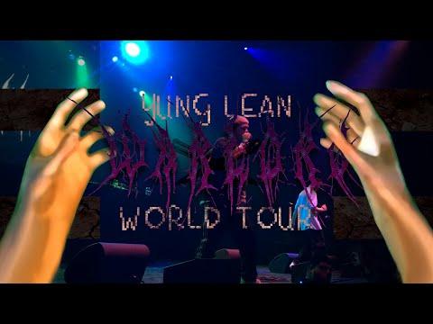 Концерт Yung Lean в Лос-Анджелесе (Warlord-тур 2016)